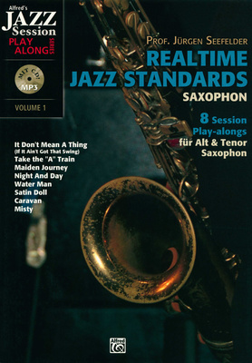 Alfred Music Publishing Realtime Jazz Standards Sax.