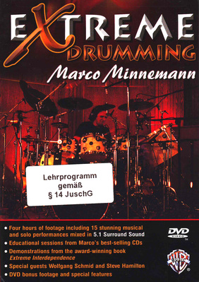 Alfred Music Publishing M.Minnemann Extreme Drumming