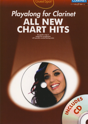 Music Sales Guest Spot Clarinet New Chart
