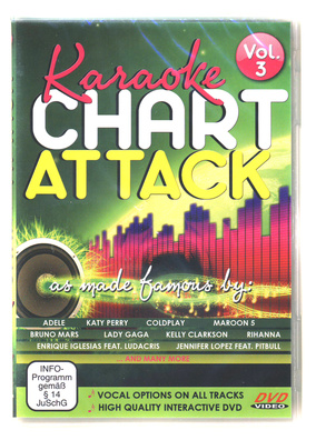 World of Karaoke Chart Attack Vol.3  DVd