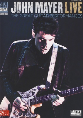 Hal Leonard John Mayer Live