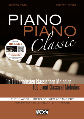 Hage Musikverlag Piano Classic Intermediate