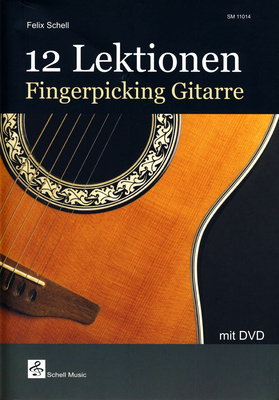 Schell Music 12 Lektionen Fingerpicking