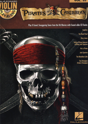 Hal Leonard Violin Play Along Pirates of