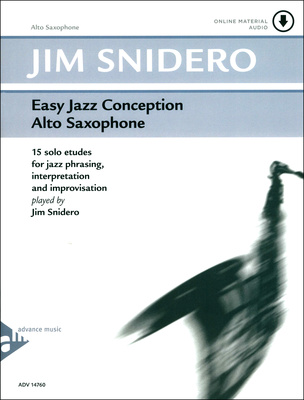 Advance Music Easy Jazz Conception 1 A-Sax