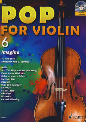 Schott Pop For Violin Vol.6