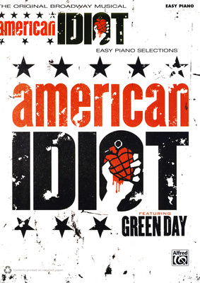 Alfred Music Publishing American Idiot Easy Piano