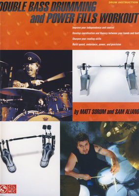 Hal Leonard Double Bass Drumming M.Sorum