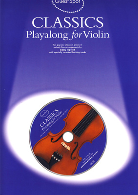 Wise Publications Guest Spot Classics Violin