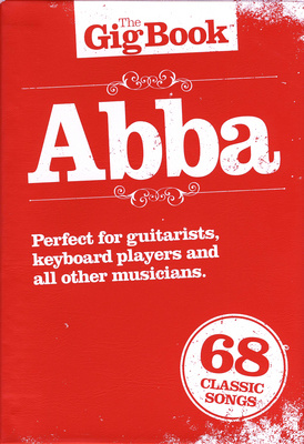 Wise Publications The Gig Book| Abba