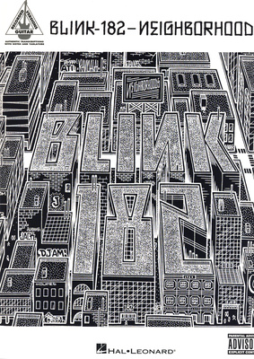 Hal Leonard Blink-182| Neighborhoods