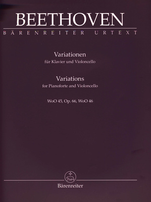 B�renreiter Beethoven Variations Cello