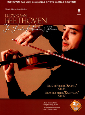 Music Minus One Beethoven Sonatas For Violin