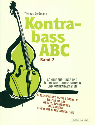 Edition Hug Kontrabass ABC 2 Schule