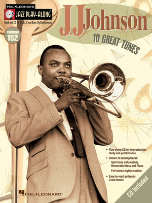 Hal Leonard Jazz Play-Along J.J.Johnson