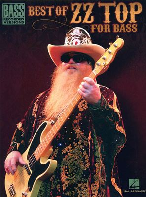Hal Leonard Best of ZZ Top -Bass