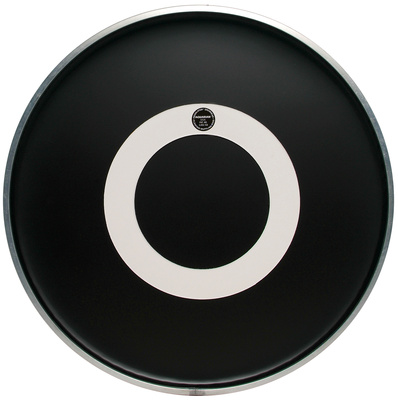 "Aquarian 20"" Regulator Black Bass Drum"