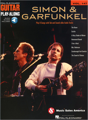 Hal Leonard Guitar Play Along Simon & Garf