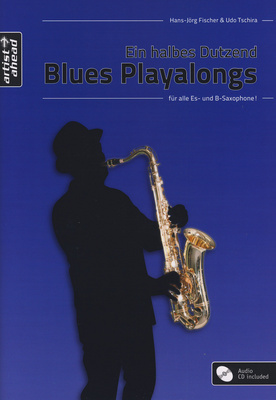 Artist Ahead Musikverlag Blues Playalongs f. Sax.