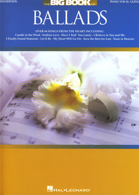 Hal Leonard Big Book of Ballads