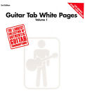 Hal Leonard White Pages Guitar Vol.1